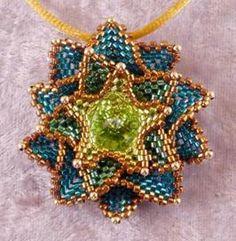 Crystal Starburst Pendant Pattern