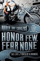 A history of the Mongols Motorcycle Club that challenges negative and sensationalized media perspectives to profile the Mongols as a tightly knit band of enthusiasts who enjoy partying and are willing to fight for their respect. (BIO CAV)