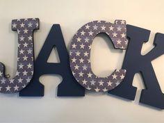Boy nursery letters, boys navy nursery letters, boys wall letters, boys name letters, boy sports dec – Baby Shower İdeas 2020 Boy Nursery Letters, Navy Nursery, Baby Letters, Star Nursery, Nursery Decor, Wood Letters Decorated, Painted Wood Letters, Wooden Letters, Name Wall Decor