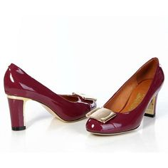 2f821e4bf01 Women Pump in Red Wine Salvatore Ferragamo Online Vásárlás