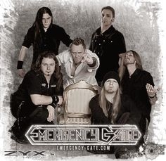 New-Metal-Media der Blog: Ankündigung für die Konzerte von Emergency Gate #news #metal #tour