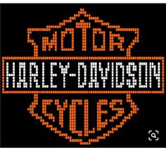 Fantastic Harley davidson bikes images are readily available on our web pages. Have a look and you wont be sorry you did. Graph Crochet, Crochet Cross, Afghan Crochet Patterns, Loom Patterns, Beading Patterns, C2c Crochet, Cross Stitch Borders, Cross Stitch Kits, Cross Stitching