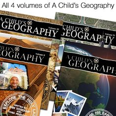 Knowledge Quest Sale! These books have literally changed the lives of thousands of families who read and enjoy the virtual adventure through A Child's Geography every single year. Sale ends April 21 so hurry!