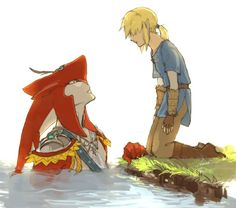 Legend Of Zelda Memes, Legend Of Zelda Breath, Billdip, Spideypool, Sidon Zelda, Ninga Turtles, Prince Sidon, Anime Furry, Link Zelda