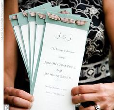 Best Out Of Waste | Homemade wedding invitations | http://bestoutofwaste.org