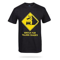 Shark Falling Tee