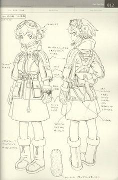 村田蓮爾 Range Murata ★ || CHARACTER DESIGN REFERENCES | キャラクターデザイン • Find more artworks at https://www.facebook.com/CharacterDesignReferences & http://www.pinterest.com/characterdesigh and learn how to draw: #concept #art #animation #anime #comics || ★