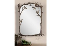 Perching Birds Small Mirror By Uttermost Http://www.maxfurniture.com/