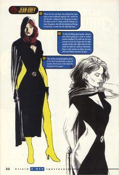 Alex Ross - X-Men Re-Designs 04, circa 2000.jpg (695×1024)