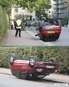 because parallel parking is too mainstream - Stupid, Fun and Plain Old Awesomeness