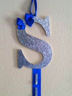 Initial Bow Holder/Cheer on Etsy, $20.00