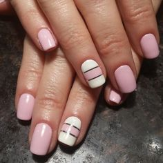 Nails done by Emily Nash. Creative Touch Nails and Day spa Elkhart Indiana… Fancy Nails, Love Nails, How To Do Nails, Pretty Nails, My Nails, White Nails, Pink Nails, Fabulous Nails, Accent Nails