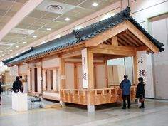 The Haru Hanok on display at the 2012 Seoul International Building Material and Decoration Fair (photo courtesy of Maestro)