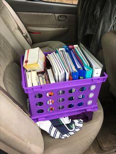 Bible College, Plastic Laundry Basket, Organization, Home Decor, Getting Organized, Organisation, Decoration Home, Room Decor, Tejidos