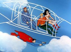 WW Superfriends invisible jet