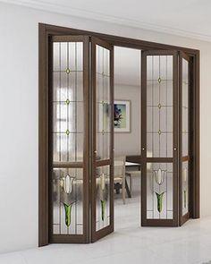 interior doors - stained glass doors