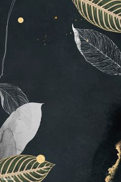 See More in Sejutapin Leaves Wallpaper Iphone, Pop Art Wallpaper, Wallpaper Backgrounds, Free Illustrations, Illustration Art, Oriental Design, Background Patterns, Background Banner, Textured Background