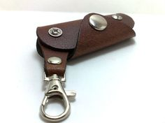 Extremely convenient keychain/ key holder from brown by TIZART, $18.00