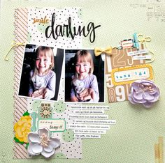 Smile Darling (36/52) - Scrapbook.com