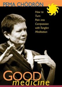 Good Medicine: How to Turn Pain into Compassion with Tonglen Meditation by Pema Chödrön on DVD Meditation Books, Breathing Meditation, Buddhist Practices, Meditation Practices, Buddhist Nun, Pema Chodron, People Like, Buddhism, Compassion