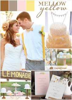 Pantone's Custard Yellow Wedding Inspiration