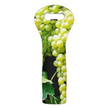 WINE GRAPES DESIGN WINE TOTE BAG