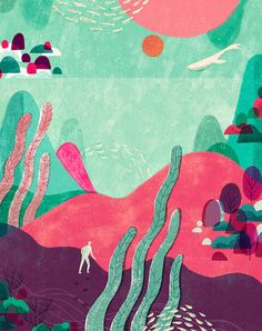 Geraldine Sy's Digital Illustrations Have a Human Touch
