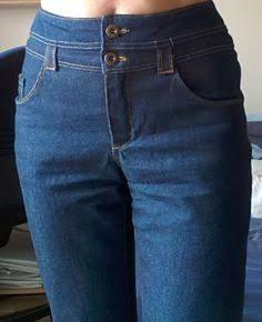 Image result for aumentando o cós da calça jeans