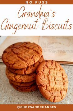 Ginger Bread Biscuits, Ginger Bread Cookies Recipe, Ginger Cookies, Sweet Biscuit Recipe, Tea Cake Cookie Recipe, Crunchy Cookies Recipe, Delicious Cookies, Brownie Recipes, My Recipes