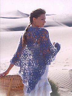 crochet pattern - lisette shawl