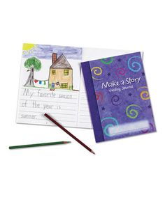 Make-a-Story Journal - Set of 10 by Learning Resources #zulily #zulilyfinds