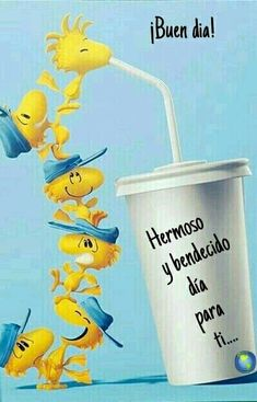 Cute Good Morning Quotes, Good Morning Messages, Good Morning Good Night, Morning Images, Good Morning In Spanish, Emoticon Faces, Snoopy Pictures, Morning Thoughts, Snoopy Quotes