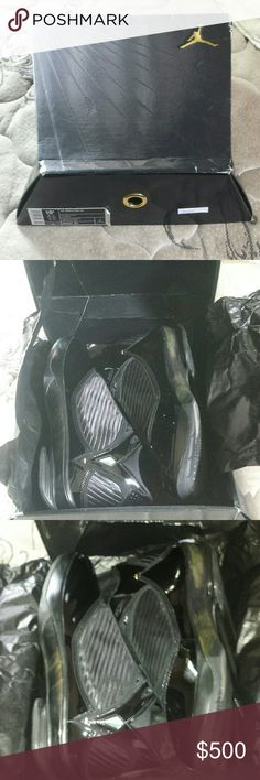 Air Jordan 2009 s23 black/gold 1005 IN US New in box deadstock wood inserts never been removed these came out 2009 only 2009 were made only1005 sent to US underated Jordan should have Retro'd hoping in 2019. Jordan Shoes Sneakers