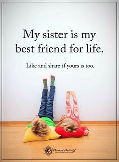 Sister Quotes, Sisters Quotes, Sisters are true best friends for life. Brother Sister Quotes, Love My Sister, Best Sister, Love My Family, Friends For Life Quotes, Best Friends For Life, My Best Friend, Bffs, Bestfriends