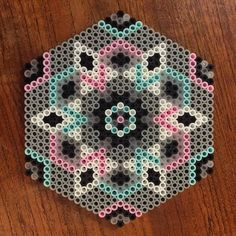 Mandala hama beads by missakc