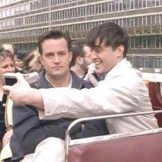 Joey and Chandler. Friends.