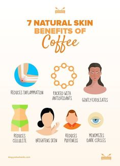 7 Natural Skin Benefits of Coffee (Plus DIY Scrub + Face Masks) Coffee Face Scrub, Diy Face Scrub, Diy Scrub, Coffee Mask, Cellulite Scrub, Coffee Benefits, Reduce Inflammation, Skin Brightening, Ways To Lose Weight