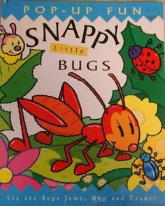 Templar, Snappy Little Bugs, insects, animals, rhyming, pop up