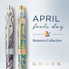 This is our Botanica Collection. Come see our two new floral patterns: Green Daylily and Black Primrose.