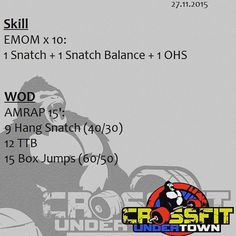 #wod #cftundertown #crossfit #workout #conditioning #weightlifing #skills #barbells #strength #xeniosusa #roguefitness #netintegratori #supportyourlocalbox