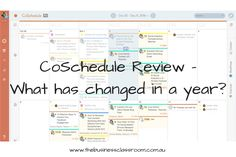 CoSchedule Review - What has changed in a year?   Over a year ago CoSchedule was definitely a one stop solution but what has changed in a year and is it still competitive in the market now.