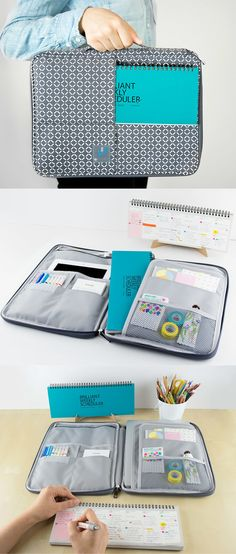 If you are needing a pouch to carry your everyday items, and a scheduler to keep you on track, this Brilliant Collection contains all the brilliant items for your needs!