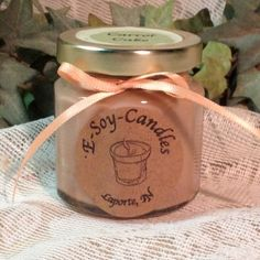 Carrot Cake 4 oz Soy Candle