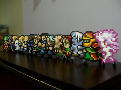 This is simply... just so awesome! i saw it on esty for 60 bucks. final fantasy sprites beaded