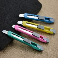 Box Cutter Utility Knife Snap Off Retractable Razor Blade Knife Tool Price history. Product ID: