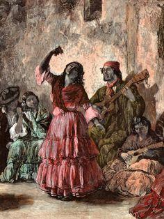 Granadaiflamenco: EL PINTOR FRANCÉS DE ZAMBRAS GITANAS (Historia) granadaiflamenco.blogspot.com300 × 400Buscar por imagen (Zambra de gitanos)