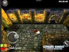 First gameplay video for Coward Knight! #gamesinitaly #indiegames #videogames