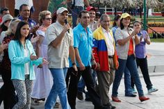 En un ambiente de inmensa alegría se inauguró la #FitVen2014 (Foto Prensa Presidencial)