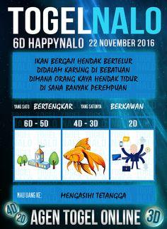 Akurat 3D Togel Wap Online Live Draw 6D Kupon HappyNalo Jakarta 22 November 2016
