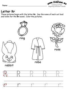Letter M Worksheet For Kindergarten | Alphabet | Pinterest ...